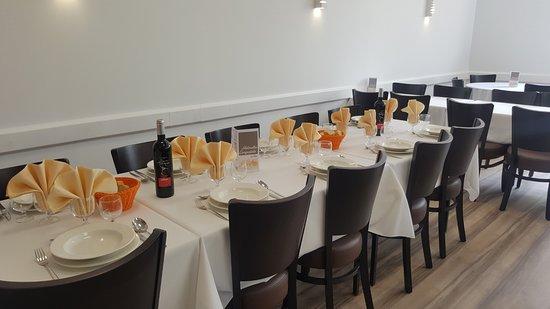 Hotel Helianthe: Restaurant de  l'hôtel Hélianthe à Lourdes