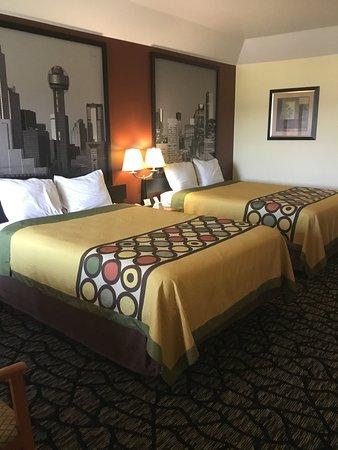 Fairfield, TX: Two Queen Room