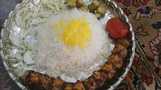 Bam, Iran: Kebap