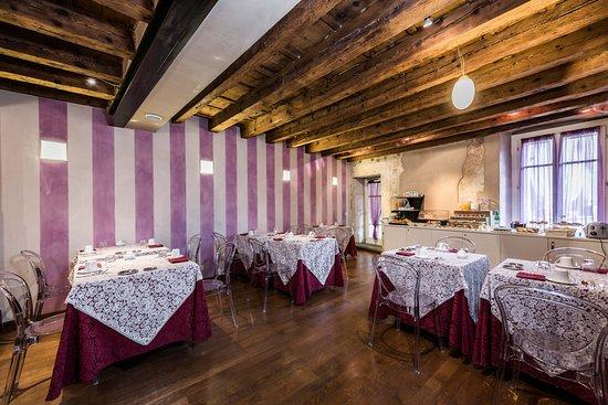 Hotel Piazza Vecchia: Sala colazione