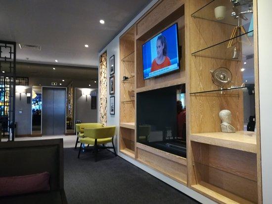 Hilton Garden Inn London Heathrow Airport: In der Lobby