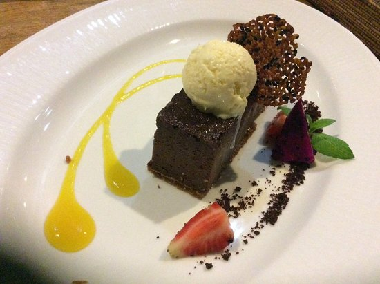 Buda Bakery & Resto: Chocolate cheesecake