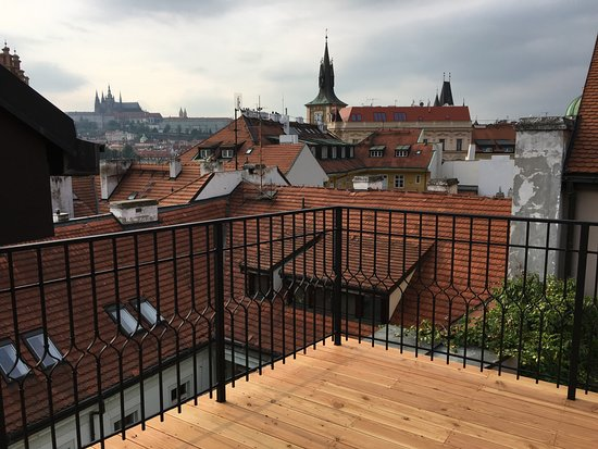 Moods Charles Bridge: Presidential Suite with Terrace View