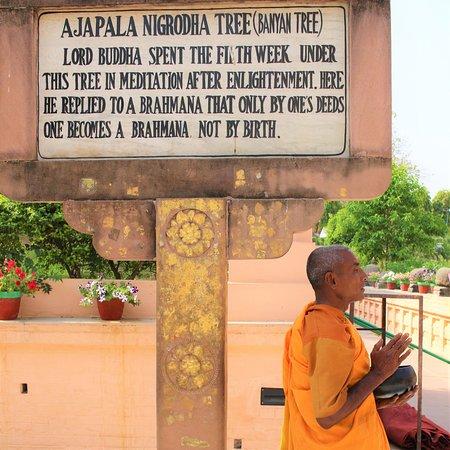 Macro Viagens: Bodhgaya, onde Buda atingiu a iluminação.