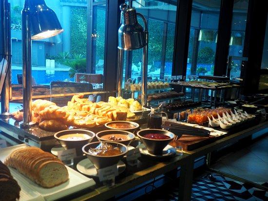 buffet breakfast at myron s picture of myron s place makati rh tripadvisor com