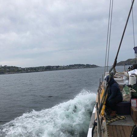 Port Clyde, ME: arriving at Monhegan