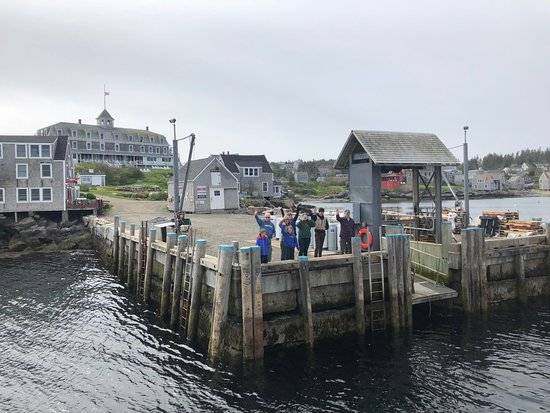 Port Clyde, ME: Leaving Monhegan-hope to get back soon!