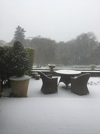 Chewton Glen Hotel & Spa: View from our suite patio doors