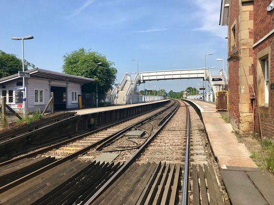 Brabourne, UK: Wye Railway Station