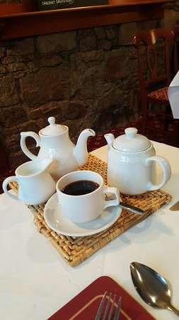 The Anchor Hotel Restaurant: Coffee Pit Stop