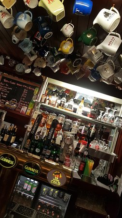 The Anchor Hotel Restaurant: Selection of beers and whiskies