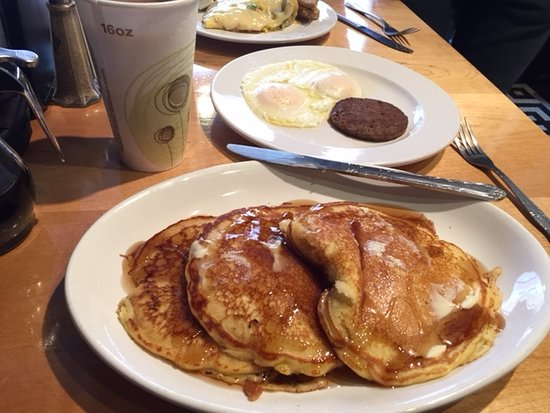 Sweet Treats Bakery: Pancakes, sausage and eggs