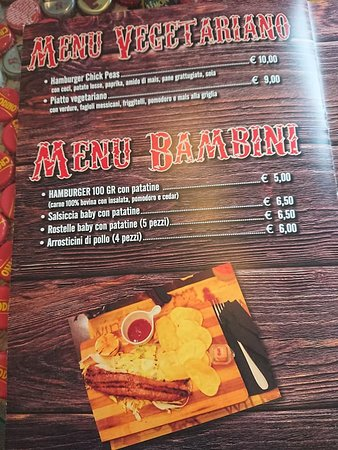 Vaca Loca Bracerie : menu