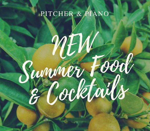 Pitcher & Piano - Birmingham: Spring Summer 18 Menu
