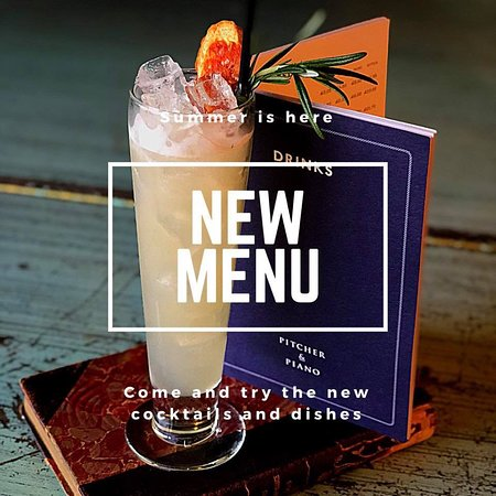 Pitcher & Piano - Birmingham: Spring Summer Drinks Menu