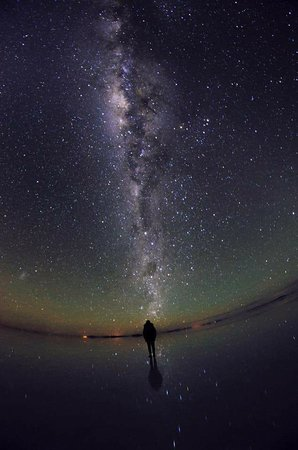 Brisa Tours: Salar de Uyuni - Noche, impresionante cielo estrellado