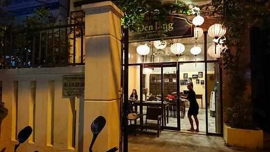 Authentic Vietname Restaurant DenLong-Lantern- : 店の入り口