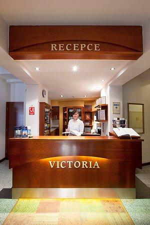 Hotel Victoria: Reception