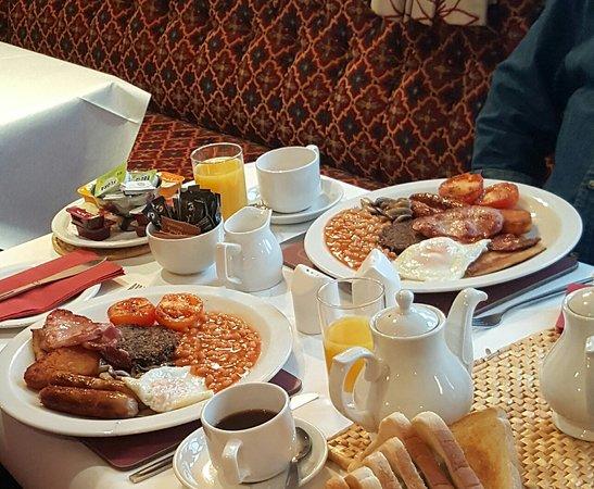 Kippford, UK: A hearty breakfast