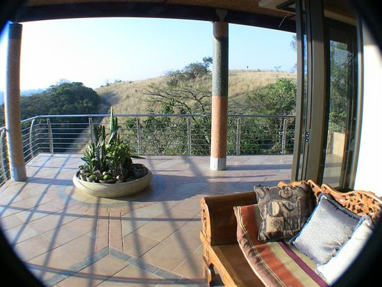 Ammazulu African Palace: Presidential Suite View from Verandah