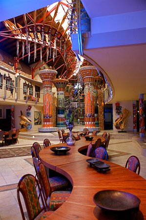 Ammazulu African Palace: Function area at night
