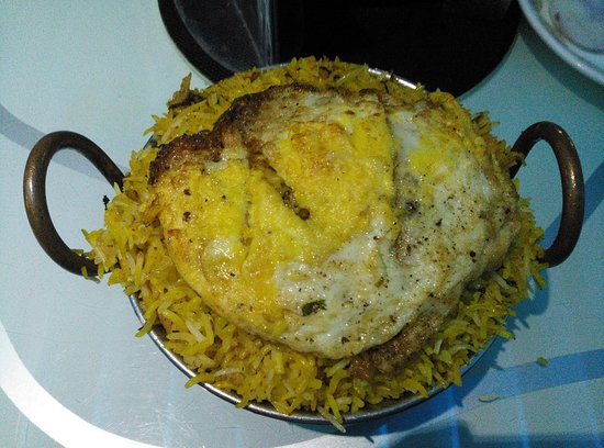 Temptations : Kadai Chicken Biryani