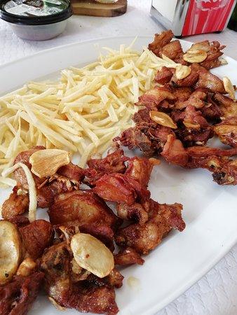 Casa Luis: capretto fritto