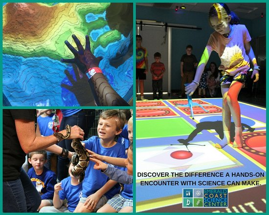 Emerald Coast Science Center: Discover the difference a hands-on encounter with science can make.
