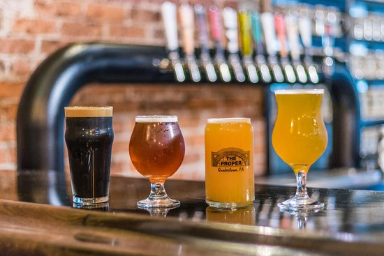 Bucks County, Pensilvanya: The Proper Brewing Co. in Quakertown