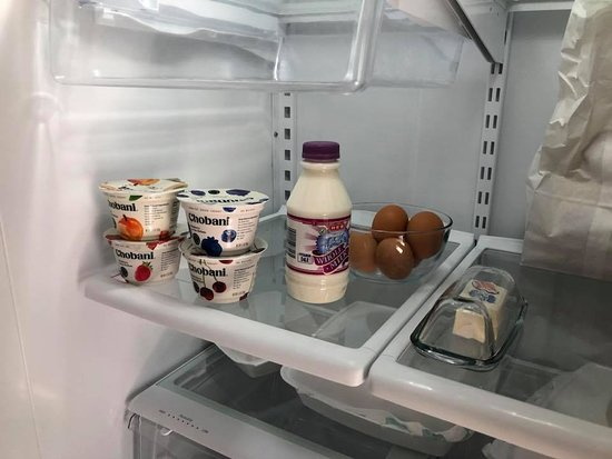 Wakefield Farms: Fridge stocked with healthy goodies