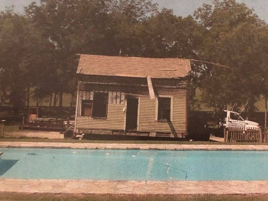 Chappell Hill, TX: What our One Bedroom House looked like before restoration- WOW!