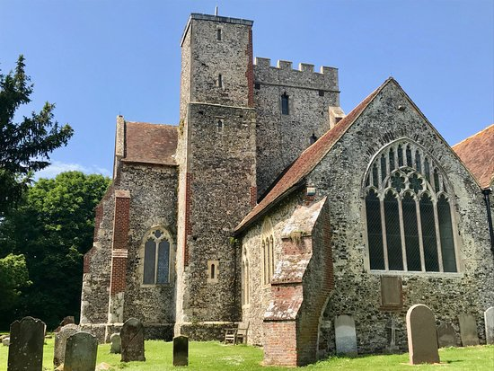 Ashford, UK: All Saints' Church, Boughton Aluph