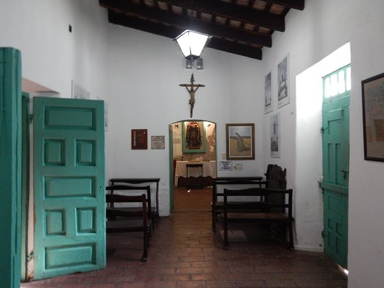 Museo de Arte Sacro, San Francisco Solano: Celda-capilla