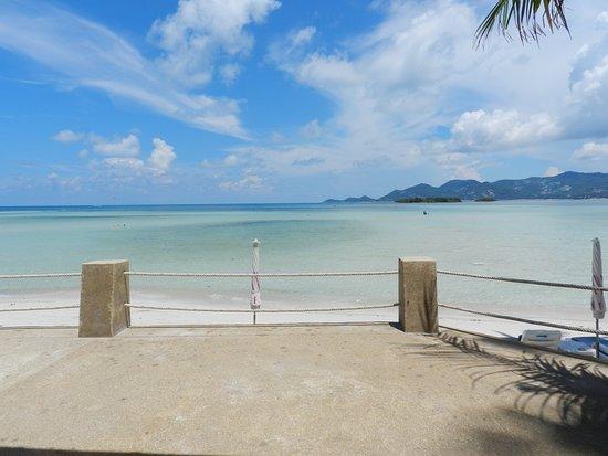 Chaba Cabana Beach Resort: View From Restaurant