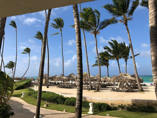 Paradisus Punta Cana Resort: View from our room - ocean front suite bldg 25