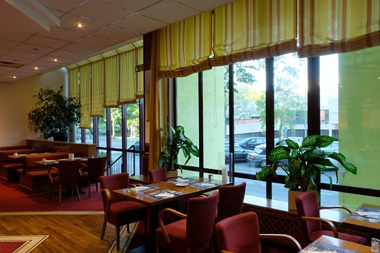 ECONTEL HOTEL Berlin Charlottenburg: 朝食会場からの眺め