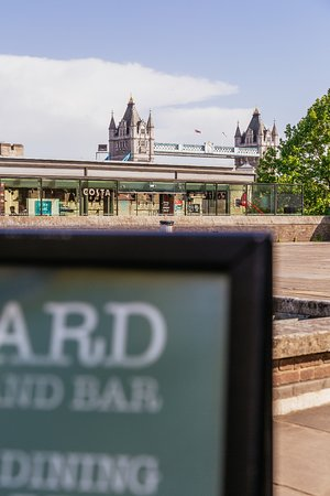 ​Byward Kitchen and Bar: view to tower bridge