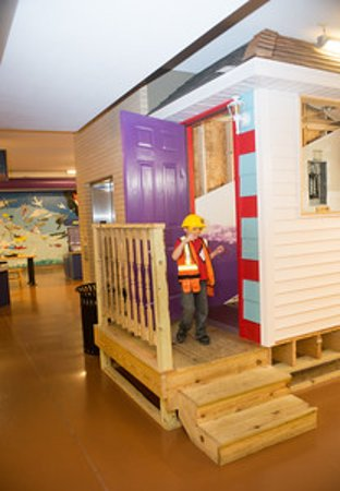 Terre Haute Childrens Museum: Construction1