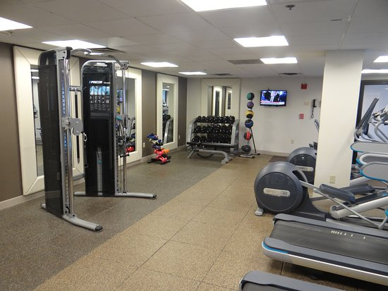 Doubletree Hotel Boston/Westborough: Fitness Room