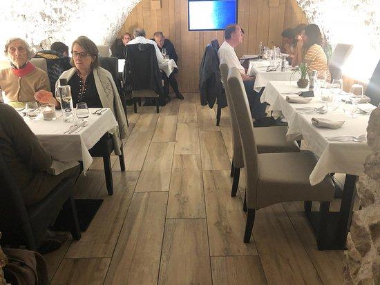 L'Assiette Gourmande: מבט אל המסעדה