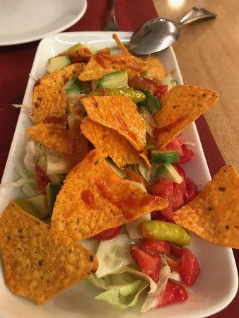 La Cocina de Gucho: Texan nachos--hot!!!!!