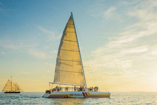 西礁岛Sebago水上运动