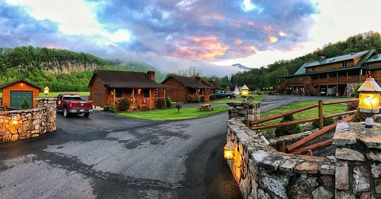 Cabins, WV: The calm after the storm. Gods Country