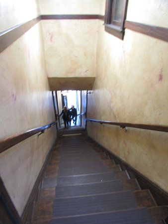 The Deadwood Social Club: Stairs