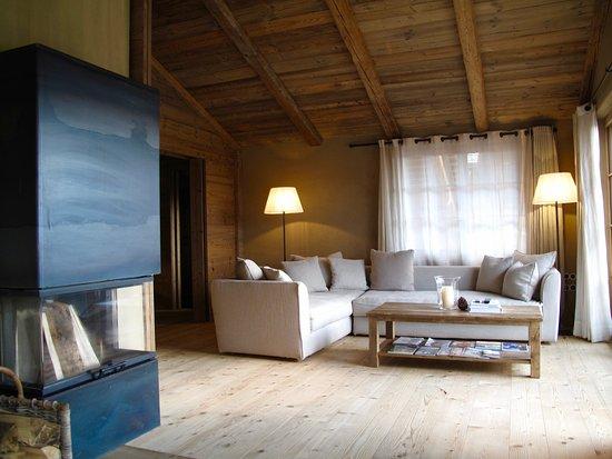 San Luis Retreat Hotel & Lodges: Living area