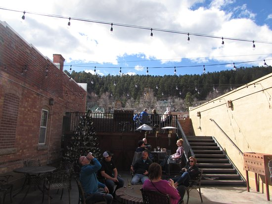 The Deadwood Social Club: Outside seating