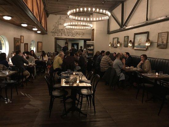 Saint James Seafood: Upstairs area