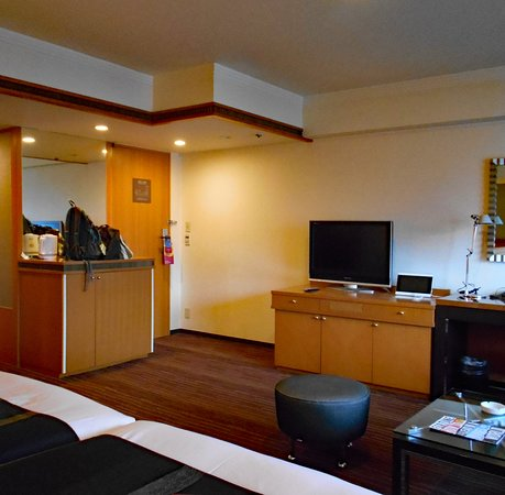 ANA Crowne Plaza Fukuoka : 我が家が案内されたコーナークラブデラックスルーム