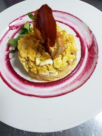 Ocana, Hiszpania: Revuelto de nuestro mejor cocinero.