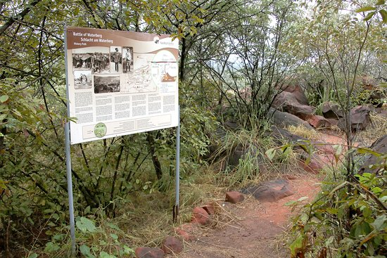 Waterberg Plateau Park, Namíbia: History Path at the private nature reserve Waterberg Wilderness